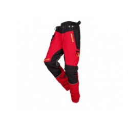 SIP Zaagbroek 1SNW-833 R Mt.XXL Rood/Zwart Innovation 1SNW-833-R-XXL