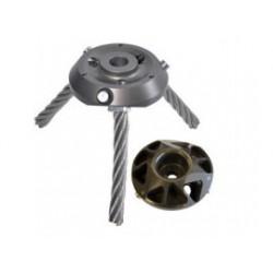 ARMIGO Onkruidborstelhouder Triplo (14,5 mm) STD MTT201TRIPLO