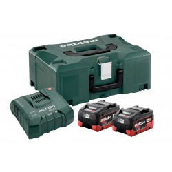 METABO Basis-set: accu-packs + lader in metaloc 685077000