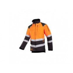 SIP Zaagtuniek 1SIS 908 M Progress Grijs Oranje EN 471 1SIS-908-M