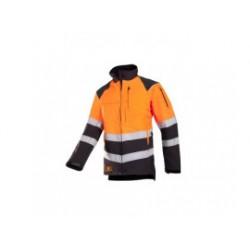 SIP Zaagtuniek 1SIS 908 XXXL Progress Grijs Oranje EN 471 1SIS-908-XXXL