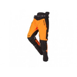 SIP Zaagbroek 1SBW-013 T Mt. M Grijs Fluo Oranje W-Air Lang 1SBWA2PH5TM