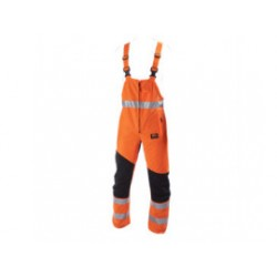 STICOMFORT Zaagoverall mt 56 oranje met striping 6091-56
