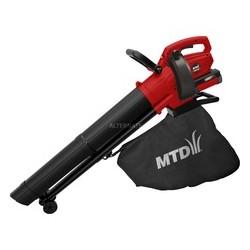 MTD Accu bladblazer/zuiger BLBV40 max 265 km/uur 41AB0-QO600