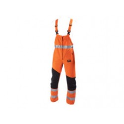 STICOMFORT Zaagoverall mt 58 oranje met striping 6091-58