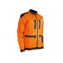 OREGON Bosbouwjack Fiordland 295489-XXXL Zwart/oranje 295489-XXXL