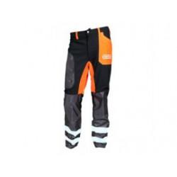 OREGON Bosmaaierbroek 295465-S Zwart/oranje 295465-S