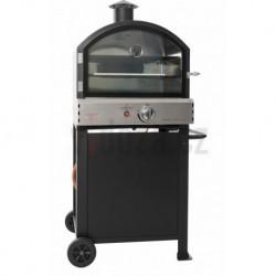 BBGRILL Pizza Oven Gas Black FRESNO-1B