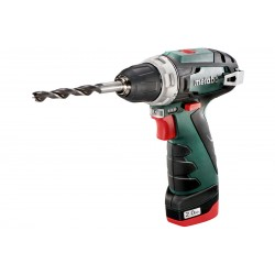 METABO Accu boorschroefmachine 10.8 volt 2 x 2,0 ah li-power, lc 40 powermaxx bs basic 600080500