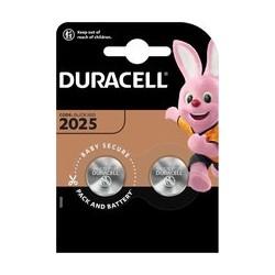 DURACELL Lithium knoopcel 3V DL2025 BL2  10 x 2 BDCR2025-BL2