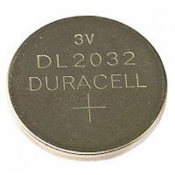 DURACELL Lithium knoopcel 3V DL2032 BL2 - 10 stuks BDCR2032-BL2