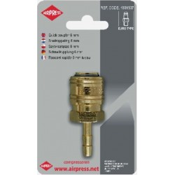 AIRPRESS Blister Snelkoppeling type Euro 8 mm slang 4346836