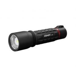 COAST XP9R zaklamp oplaadbaar 1000Lm Spot-to-Flood/Dim. USB inc1xZithion-X LCOAXP9R